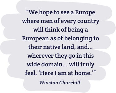 Famous quote by Churchill