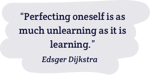 Famous quote by Dijkstra
